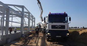 Produkcja betonu budowlanego Nabzdyk