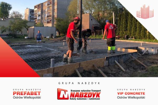 Płyta fundamentowa Ostrów Wielkopolski