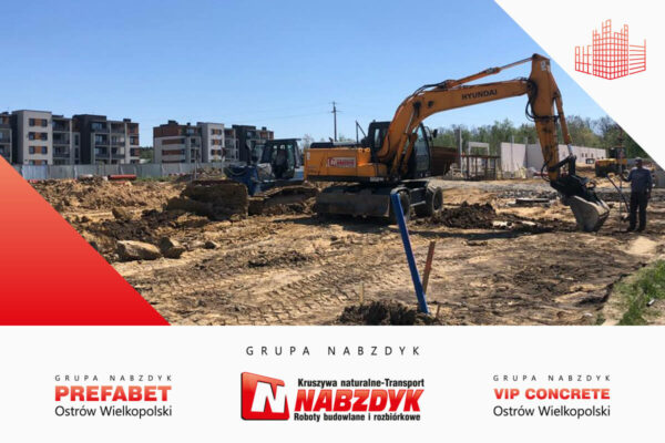 Prace ziemne z systemem GPS Grupa Nabzdyk