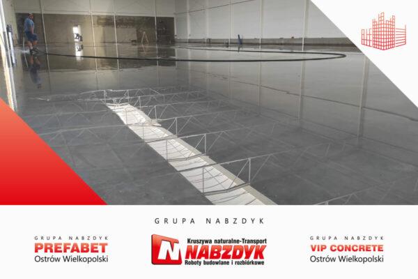 beton posadzkowy na hale przemyslowa